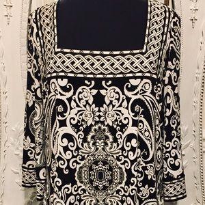 WHITE HOUSE/BLACK MARKET Dress/Blouse/Top Size XL